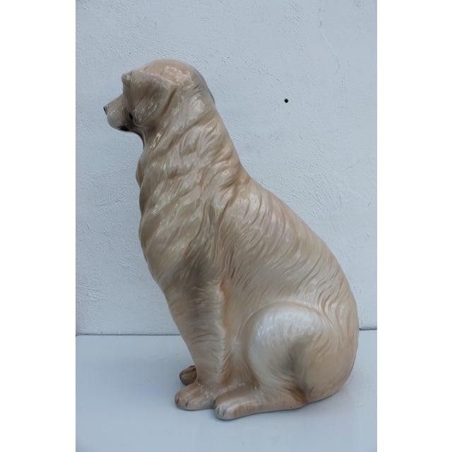 Italian Ceramic Dog Statue - Image 5 of 7