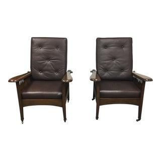 Paul Ferrante Morris Chairs - A Pair