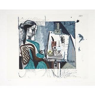"""Pablo Picasso, """"Femme Dans L'Atelier,"""" Lithograph"""