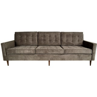 Stylish Mid-Century Modern Three Person Sofa