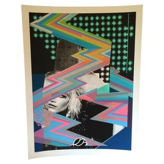 Signed Blondie Silkscreen Poster