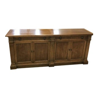 Heritage Grand Tour Rustic Solid Wood Buffet Server