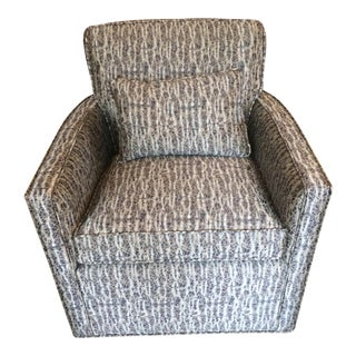 Donghia Swivel Club Chair