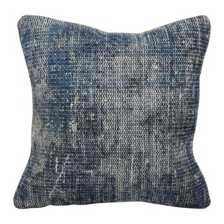 Vintage Blue Turkish Handmade Kilim Pillow Cover