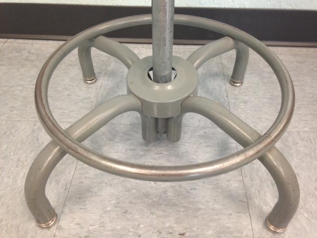 Industrial Metal Swivel Stools