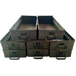 Industrial Metal Boxes - Pair
