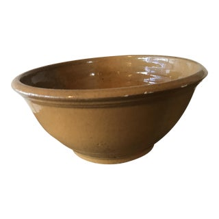 Yellow Ware Ceramic Bowl