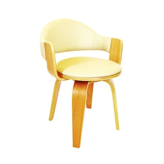 Alvar Aalto Inspired Molded Plywood Side Chair