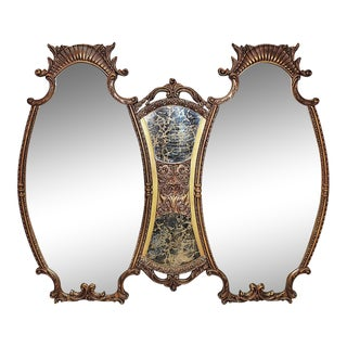 Hollywood Regency Style Large Mirror