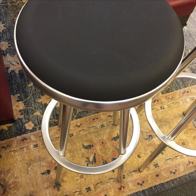 Indecasa Black Barstools - a Pair - Image 5 of 7