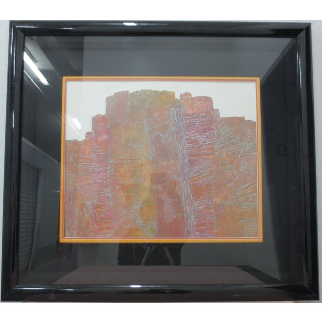 Image of Janet Jones Framed rint on Paper - Solitary Canyon