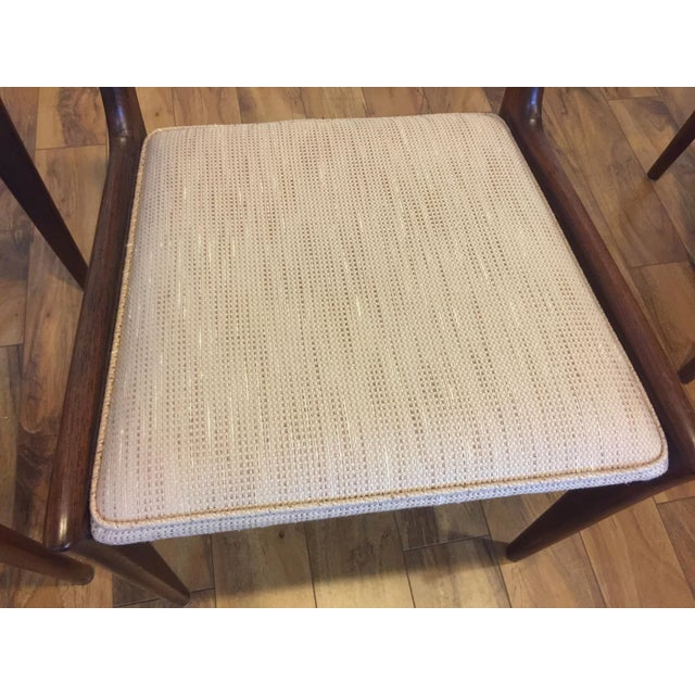 Karl Erik Ekselius for JOC Rosewood Dining Chairs- Set of 6 - Image 6 of 7
