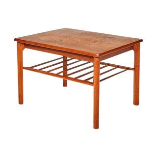 1960s Mobelfabrikken Toften Teak Table
