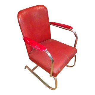 Vintage K.E.M. Weber for Lloyd Red Chair