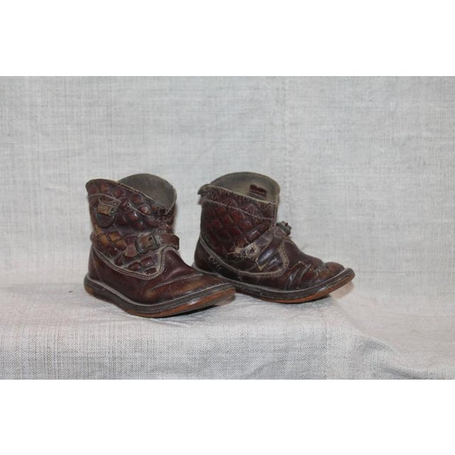 Image of Collection of 1930s Children's Cowboy Boots