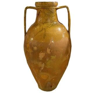 19th Century Italian Olive Oil Jug