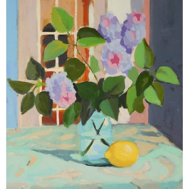 """Lilac With Lemon"" by A. Carrozza Remick - Image 5 of 6"