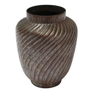 Antique Asian Copper Vase