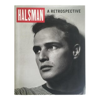 """Halsman a Retrospective"" Vintage 1998 1st Edition Collector Oversized Photography Book"
