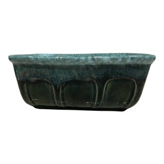 Teal Planter by Hull USA