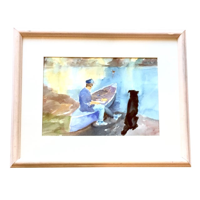 Contemporary Ralph C Lemmons Signed Water Painting - Image 1 of 6