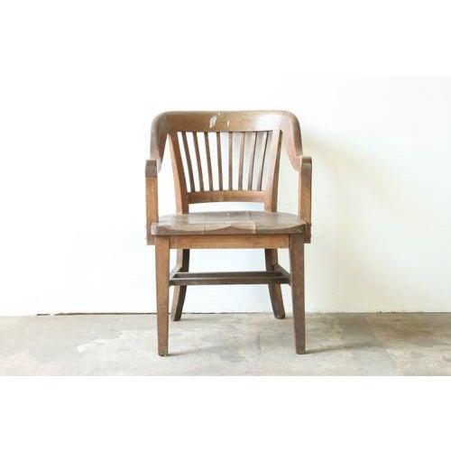 Oak of England Bank Chair - Image 2 of 4