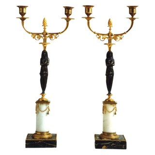 Gustavian Candlesticks, circa 1775 -1810