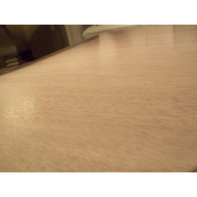 Grey Teak Coffee Table: Gray Washed Teak Coffee Table