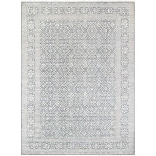 Pasargad Transitiona Vsilk & Wool Rug - 10' X 14'