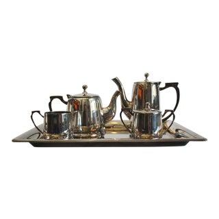 6 Piece Silver Tea & Coffee Service