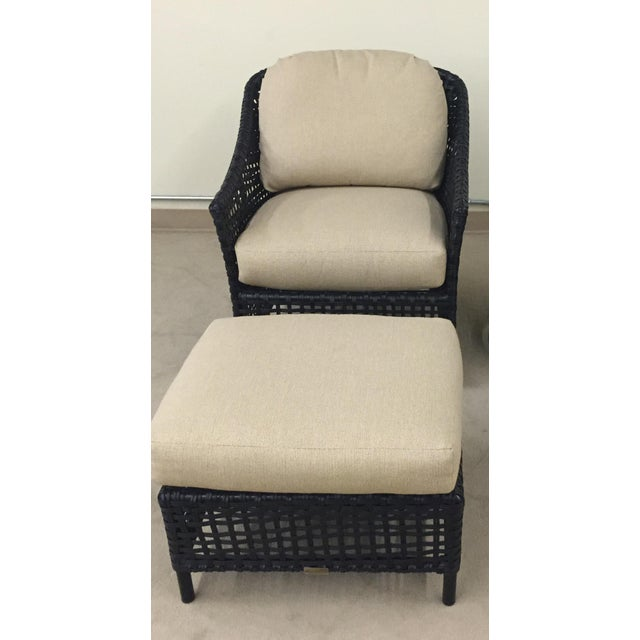 Lane Venture Platinum Chair & Ottoman - Image 4 of 7