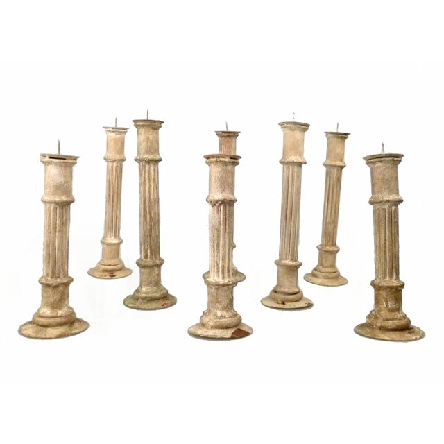 Classical Column Candlesticks - Set of 8 - Image 5 of 7