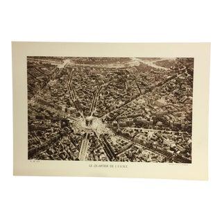 1933 Le Quartier De L'étoile Paris