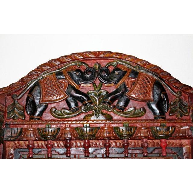 Hand Painted Royal Maharaja Mirror Frame - Image 2 of 5