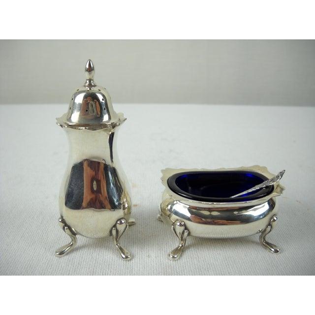 Fisher Sterling Salt & Pepper Set - Set of 5 - Image 3 of 10