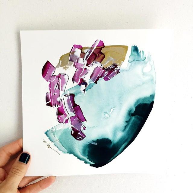 "Beth Winterburn Original Abstract Painting - ""8/1. 1."" - Image 3 of 3"