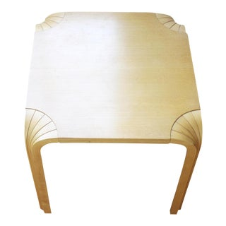 Alvar Aalto for Artek Organic Modern Fan Leg Side Table