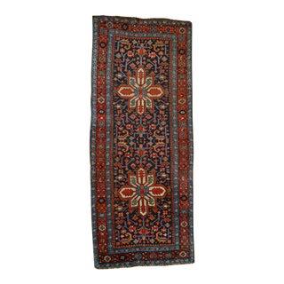 Antique Persian Heriz Karajeh Runner- 3′6″ × 8′10″