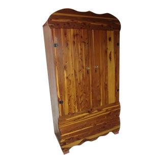 Vintage Cedar Wardrobe