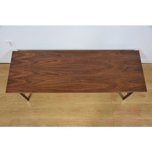 Paul McCobb for Calvin Walnut Coffee Table - Image 4 of 8