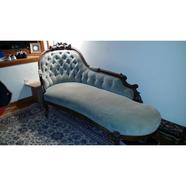 Antique Victorian Fainting Couch - Image 2 of 10