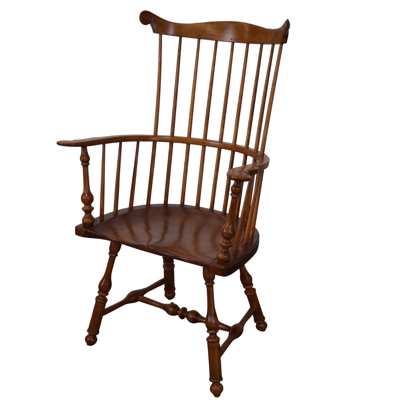 Walter Steely Custom Comb Back Windsor Arm Chair
