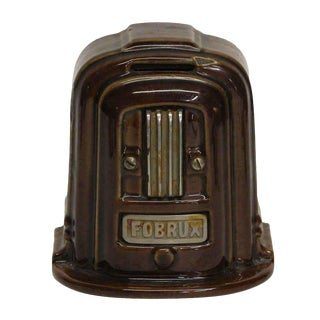 Vintage Brown Coin Bank