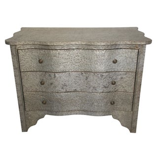 Noir Furniture La Geneva Hammered Metal Chest
