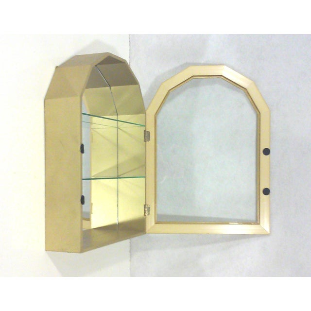 Gold Arch Wall Curios - Pair - Image 3 of 6