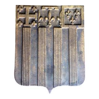 Vintage French Crest Fleur De Lys