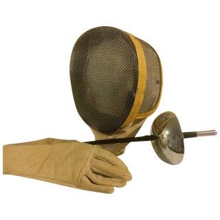 Vintage Castello Fencing Set