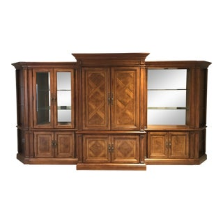 All Wood Entertainment Center