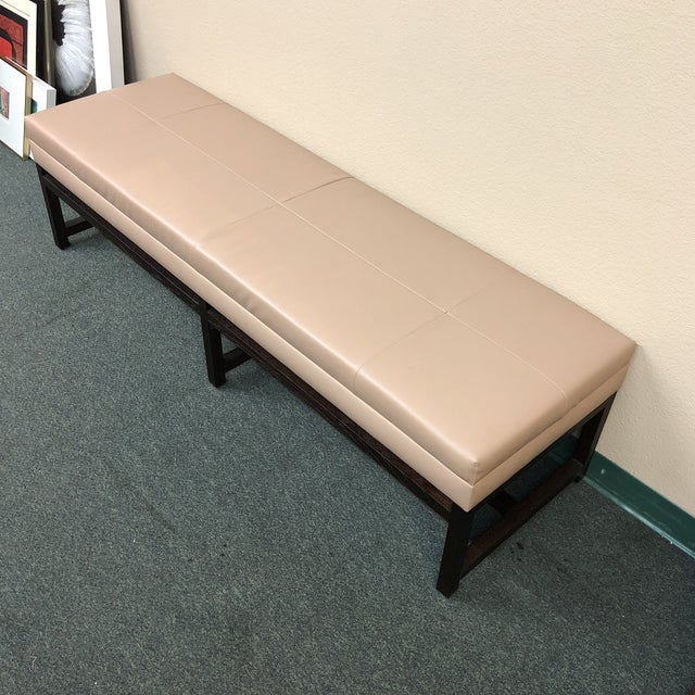 Room & Board Upholstered Bench - Image 4 of 8