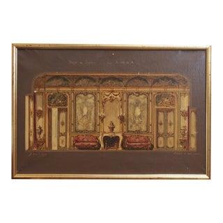 "19th Century Austrian ""Interior"" Artwork"